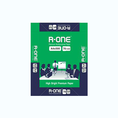 R-One Copier Paper - A4 , 70 GSM, 1 Ream ( 1 ream = 500 sheets )