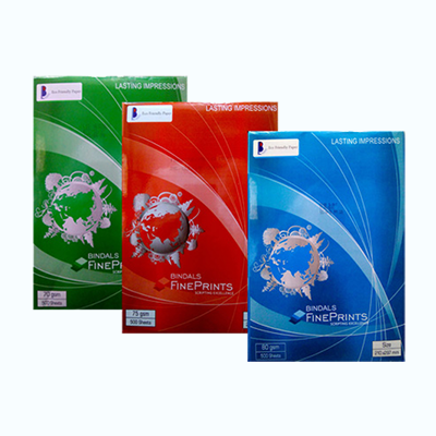 Bindal 70 GSM A4 Size 500 sheets