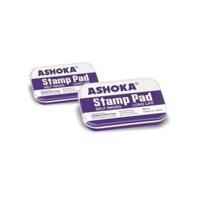 Blue ASHOKA STAMP PAD, For Office